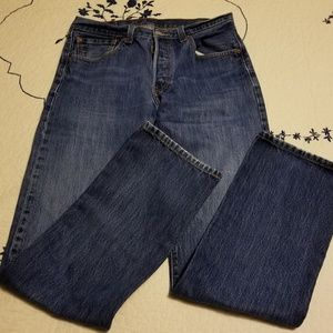 501 Button Fly Levi's Jeans